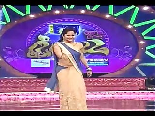 WAPWON.COM hot navel show by hot anchor anasuya